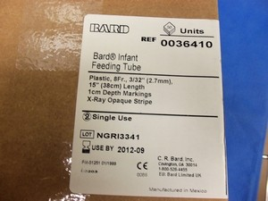 Bard Infant Feeding Tube 8Fr (EACH)