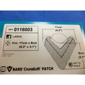 Bard Curasoft Mesh Large (Box of 1)