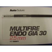 Covidien Autosuture Multifire GIA 30 2.5mm White (Each)