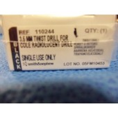 Smith Nephew 3.5mm Twist Drill For Cole Radiolucent Drill (Each)