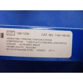 Zimmer II Femoral Fixation System Compression Tube/Plate Standard 5 Hole 140 Deg 102mm (Each)