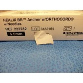 DePuy Mitek Healix BR Anchor w/Orthocord & Needle (Each)