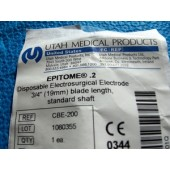 "Utah Medical Epitome .2 Standard 2"" Shaft (Each)"